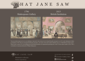 Whatjanesaw.org thumbnail