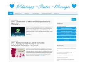 Whatsappstatusmessages.com thumbnail