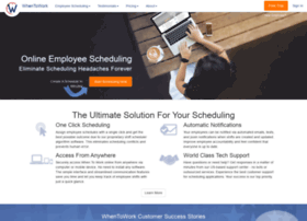 whentowork.com at WI. Employee Scheduling Software ...