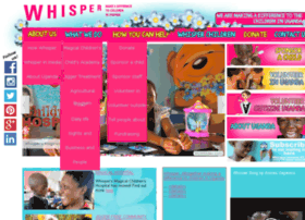 Whisperorphans.org thumbnail