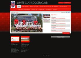 Whiteclaysoccer.org thumbnail