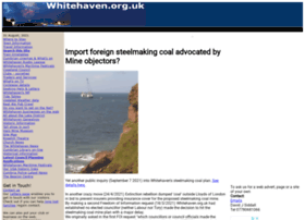 Whitehaven.org.uk thumbnail