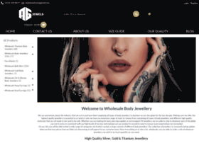 Wholesale-bodyjewelry.com thumbnail