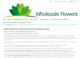 Wholesaleflowers.co.nz thumbnail