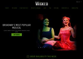 Wickedthemusical.com thumbnail