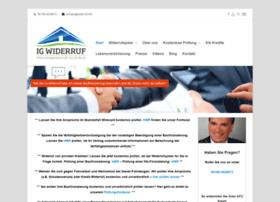 Widerruf.info thumbnail