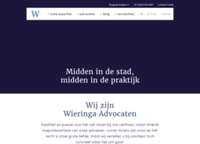 Wieringa-advocaten.nl thumbnail