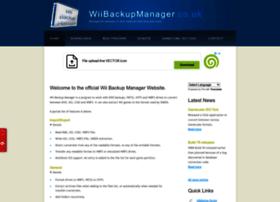 Wiibackupmanager.co.uk thumbnail
