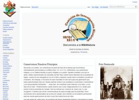 Wikihistoria.iafcj.org thumbnail