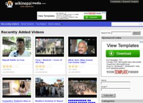 Wikinepalmedia.info thumbnail