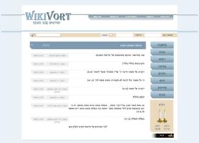 Wikivort.co.il thumbnail