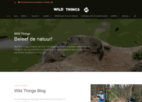Wild-things.be thumbnail