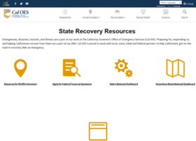 Wildfirerecovery.org thumbnail