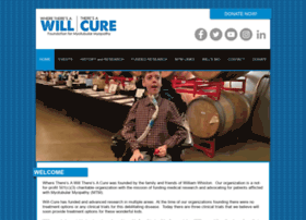 Will-cure.org thumbnail