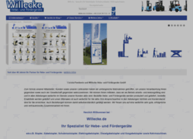 Willecke-gabelstapler.de thumbnail