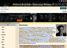 William-branham.org thumbnail