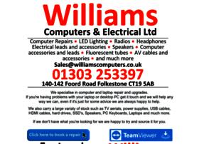 Williamscomputers.co.uk thumbnail
