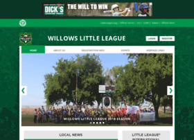 Willowslittleleague.org thumbnail