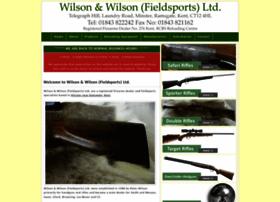 Wilsonandwilsonfieldsports.co.uk thumbnail