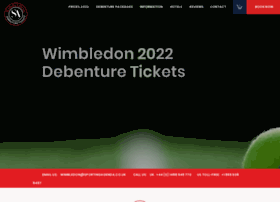 Wimbledon-debenture-tickets.co.uk thumbnail