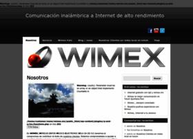 Wimex.mx thumbnail