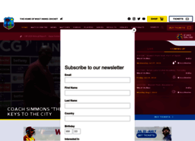 Windiescricket.com thumbnail