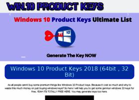 Windows10productkeys.info thumbnail