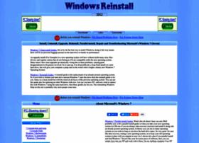 Windows7.windowsreinstall.com thumbnail
