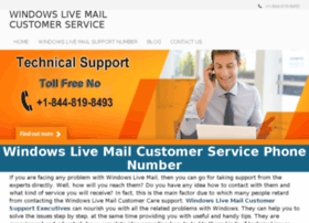 Windowslivemailcustomerservice.com thumbnail