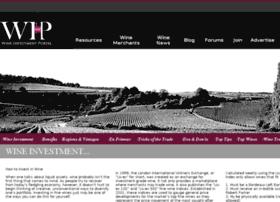 Wineinvestmentportal.com thumbnail