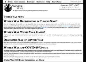 Winterwar.org thumbnail