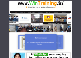 Wintraining.in thumbnail