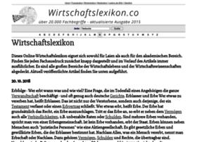 Wirtschaftslexikon.co thumbnail
