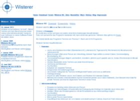 Wisterer.info thumbnail