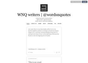 Wnq-writers.com thumbnail