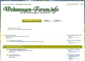 Forum wohnwagen Wohnwagen Forum