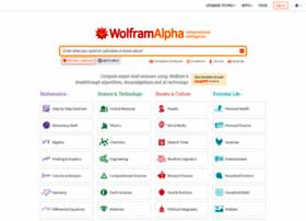 Wolframalpha.com thumbnail