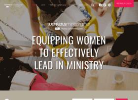 Womensministry.net thumbnail