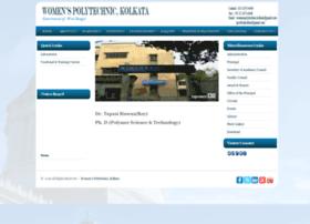 Womenspolytechnickolkata.in thumbnail