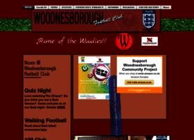 Woodnesboroughfc.co.uk thumbnail