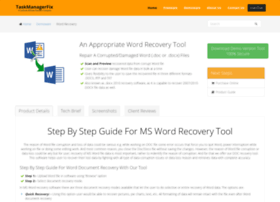 Word-recovery.taskmanagerfix.com thumbnail