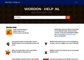Wordon-help.nl thumbnail
