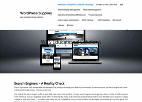 Wordpresssupplies.com thumbnail