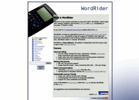 Wordrider.net thumbnail