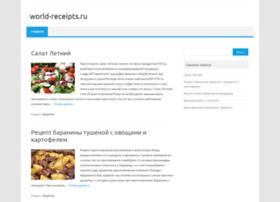 World-receipts.ru thumbnail