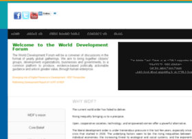 Worlddevelopmentforum.org thumbnail
