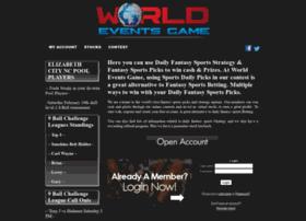Worldeventsgame.com thumbnail