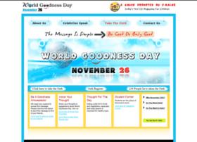 Worldgoodnessday.net thumbnail