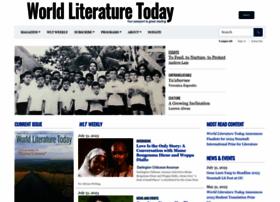 Worldliteraturetoday.org thumbnail