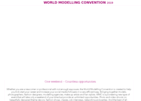 Worldmodellingconvention.com thumbnail